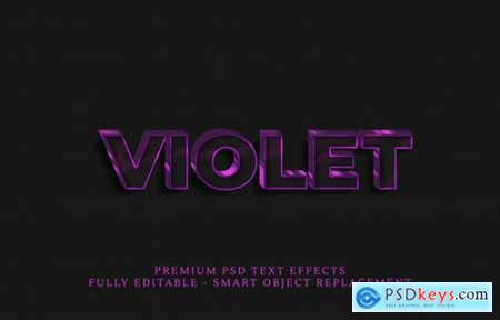 3D Text Style PSD Bundle 4