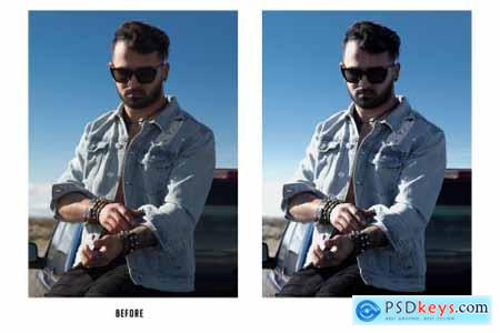 24 Street Style Photoshop Actions 4452798