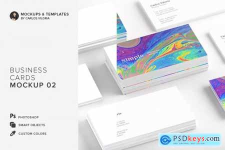 Business Cards Mockup 02 4516053