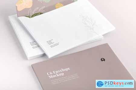 C6 Envelope Mockup 01 4531769