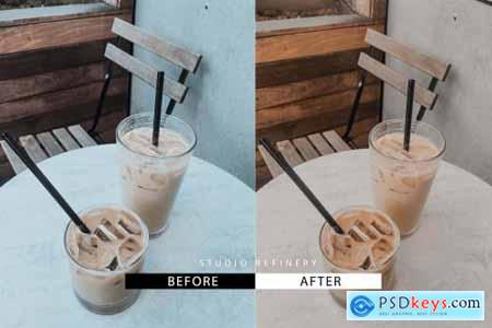 Cream Latte Lightroom Preset 4360074