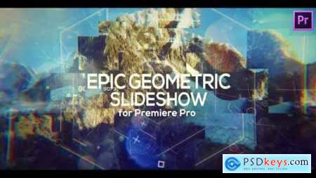 Epic Geometric Slideshow for Premiere Pro 25779406