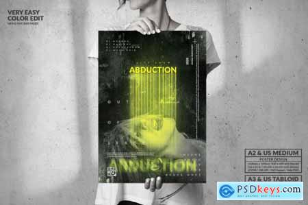 Abduction Party for Brave Ones - Big Poster Design