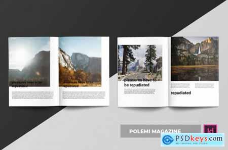 Polemi Magazine Template