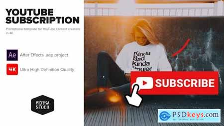 YouTube Subscribe Like Get Notified Promotion Kit 25712532
