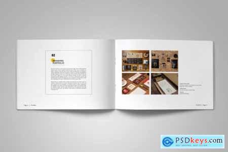 A5 Clean & Simple Portfolio 4587610