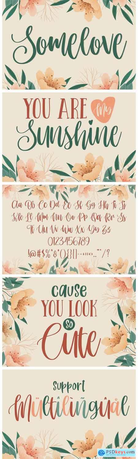 Somelove Font