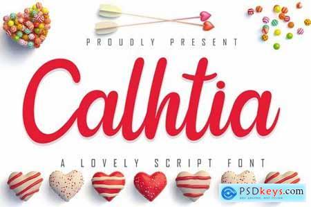 Calhtia Lovely Script