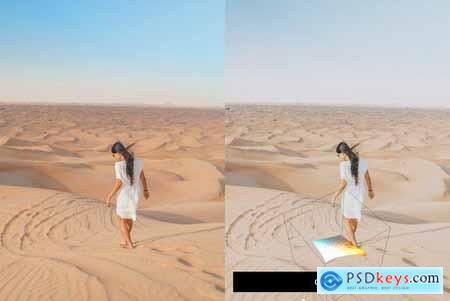 50 Sahara Lightroom Presets and LUTs