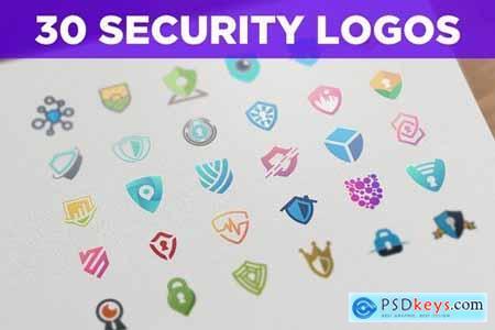 30 Security Themed Logos