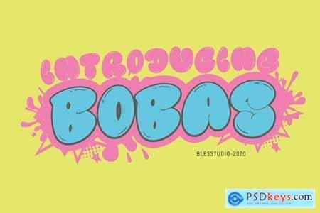 Bobas - Font