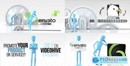 Videohive Funny Character Logo Reveal Bundle 15310411