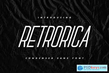 Retrorica - Condensed Sans