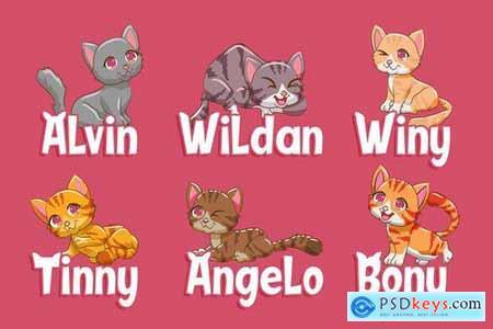 Sweety Cats - Funny Sans Serif