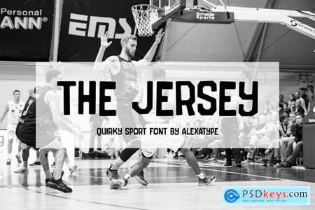 The Jersey - Quirky College Font