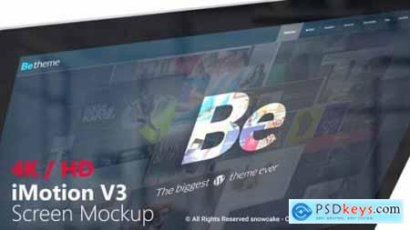 iMotion Screen Mockup 20724409 Free