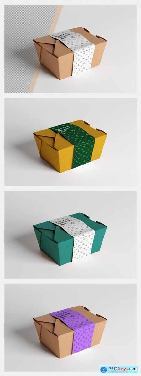 Paper Food Packaging Mockup 324064301