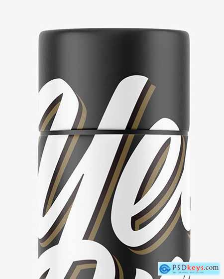 Matte Paper Tube Mockup 55976