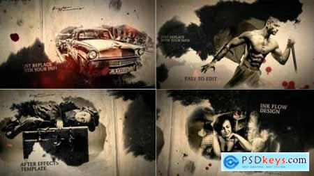 Videohive Grunge Ink Flow 21867323