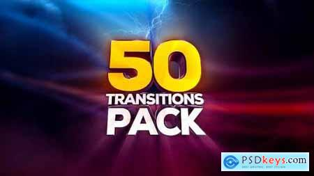 Videohive Transitions Pack 13488639