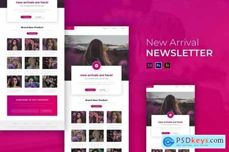 The New Arrival - Newsletter Template