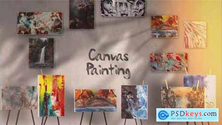 Canvas Painting Gallery 25799515