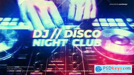 DJ Disco Night Club Intro 25795026