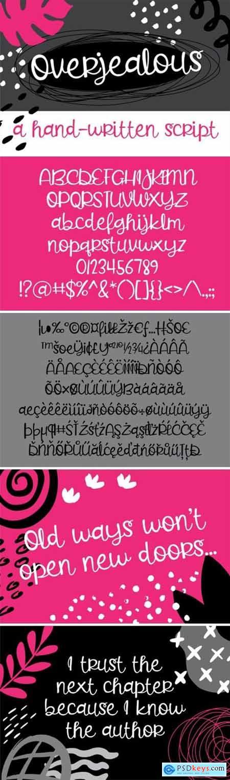 Overjealous Font