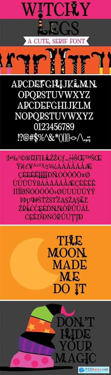 Witchy Legs Font
