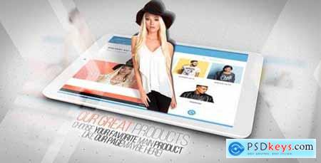 Videohive Clean App Commercial 18622289