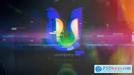 Videohive Glitch Logo 25550043