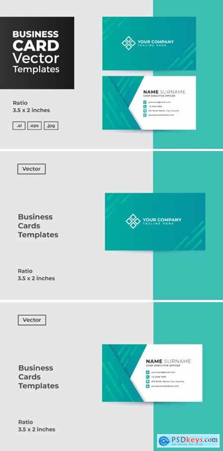 Business Card Vector Template 3006684