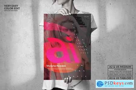 Music Party - Big Music Poster Design
