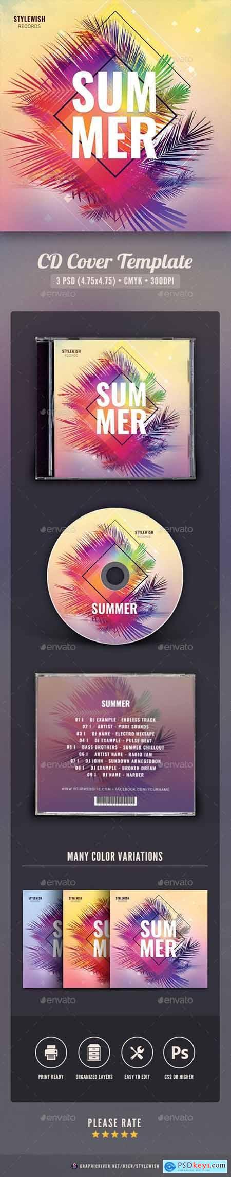 Summer CD Cover Artwork 25793397