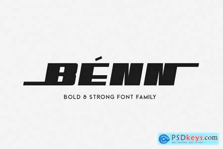 Benn - Bold and Strong Font Family 4595906