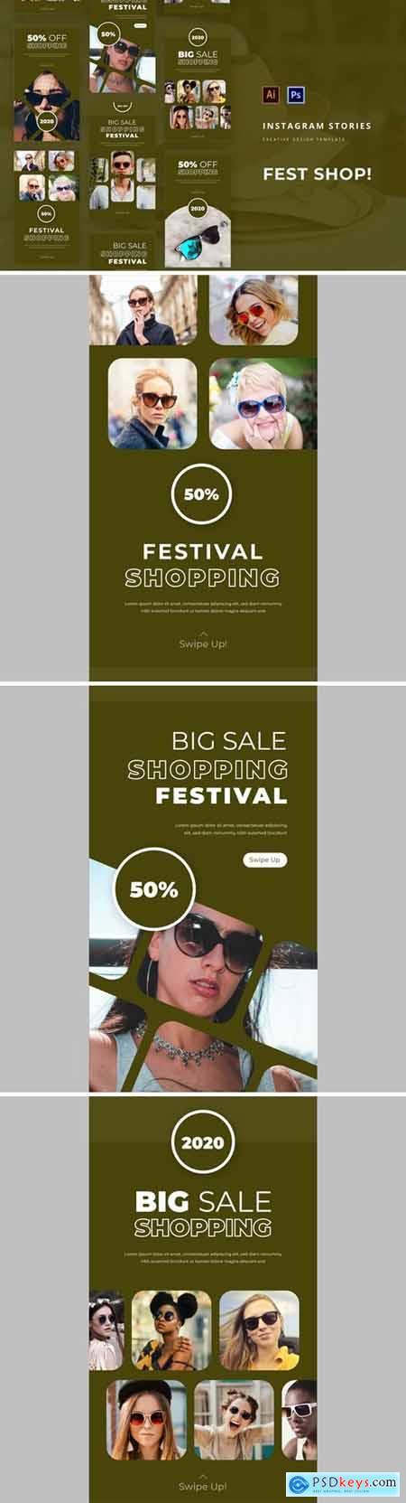 Fest Shop Instagram Story Template
