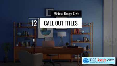 Minimal Call Out Titles 25781228