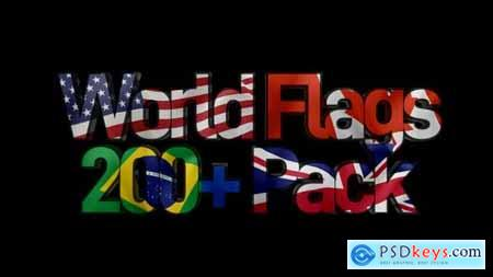 World Flags 200+ Pack 25781080