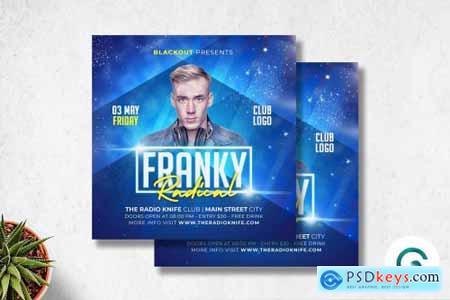 DJ Flyer Template 4571351