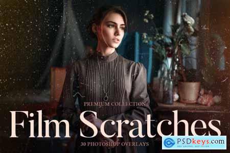 Film Scratches Photoshop Overlays 4548099