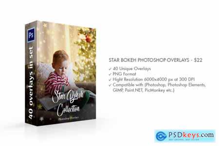 Star Bokeh Photoshop Overlays 4548423