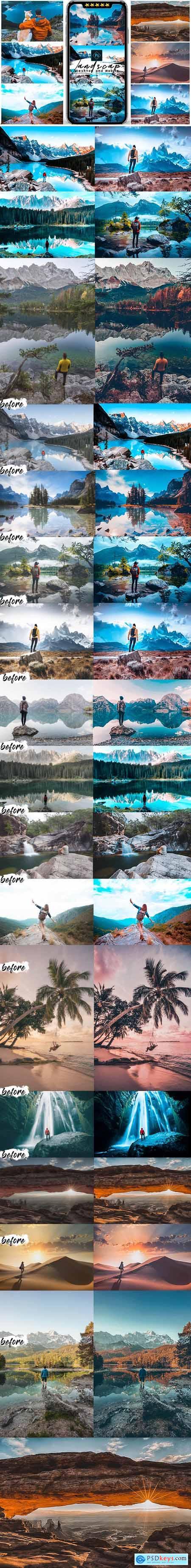 Landscap Photoshop Actions 25578343