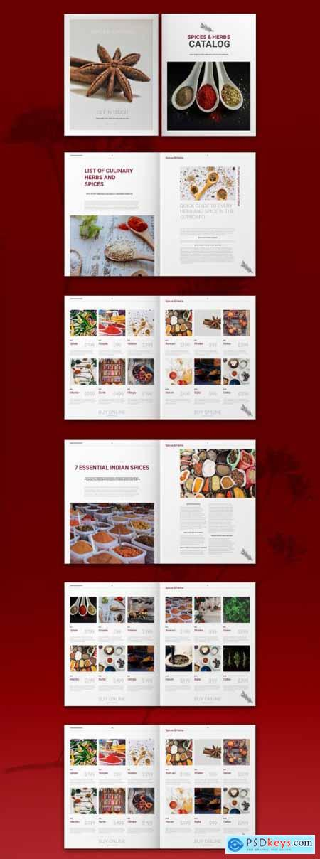 Spices Catalog Layout 322344859