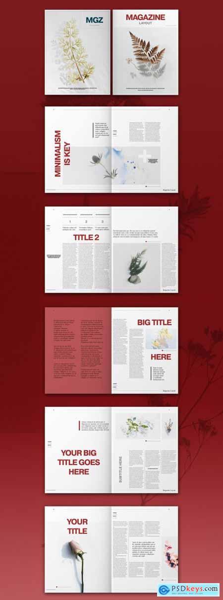 Magazine Layout 319007990