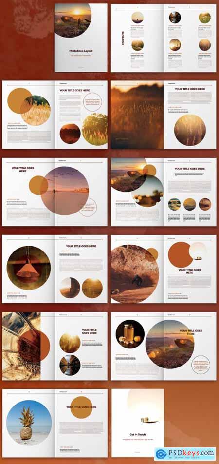 Photobook Brochure Layout 322344933