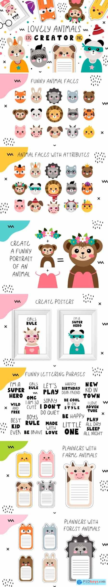 Lovely Animals Creator 3008374