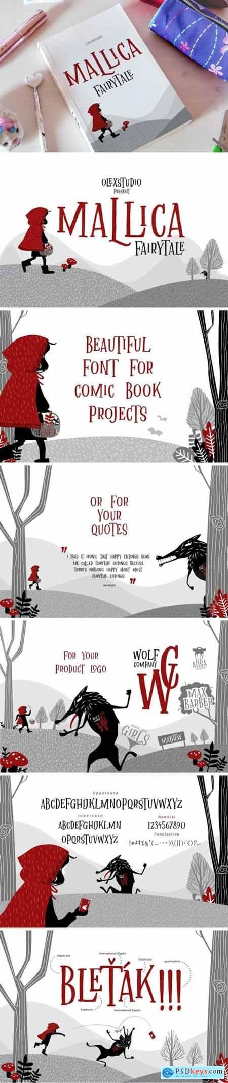 Malica Fairytale Font