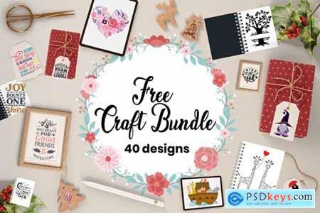 Craft Bundle - 40 Unique Designs