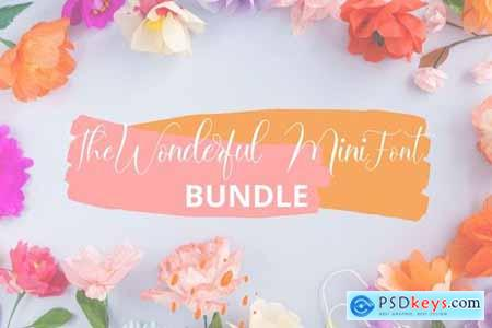 The Wonderful Mini Font Bundle