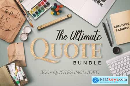 The Ultimate Quote Bundle